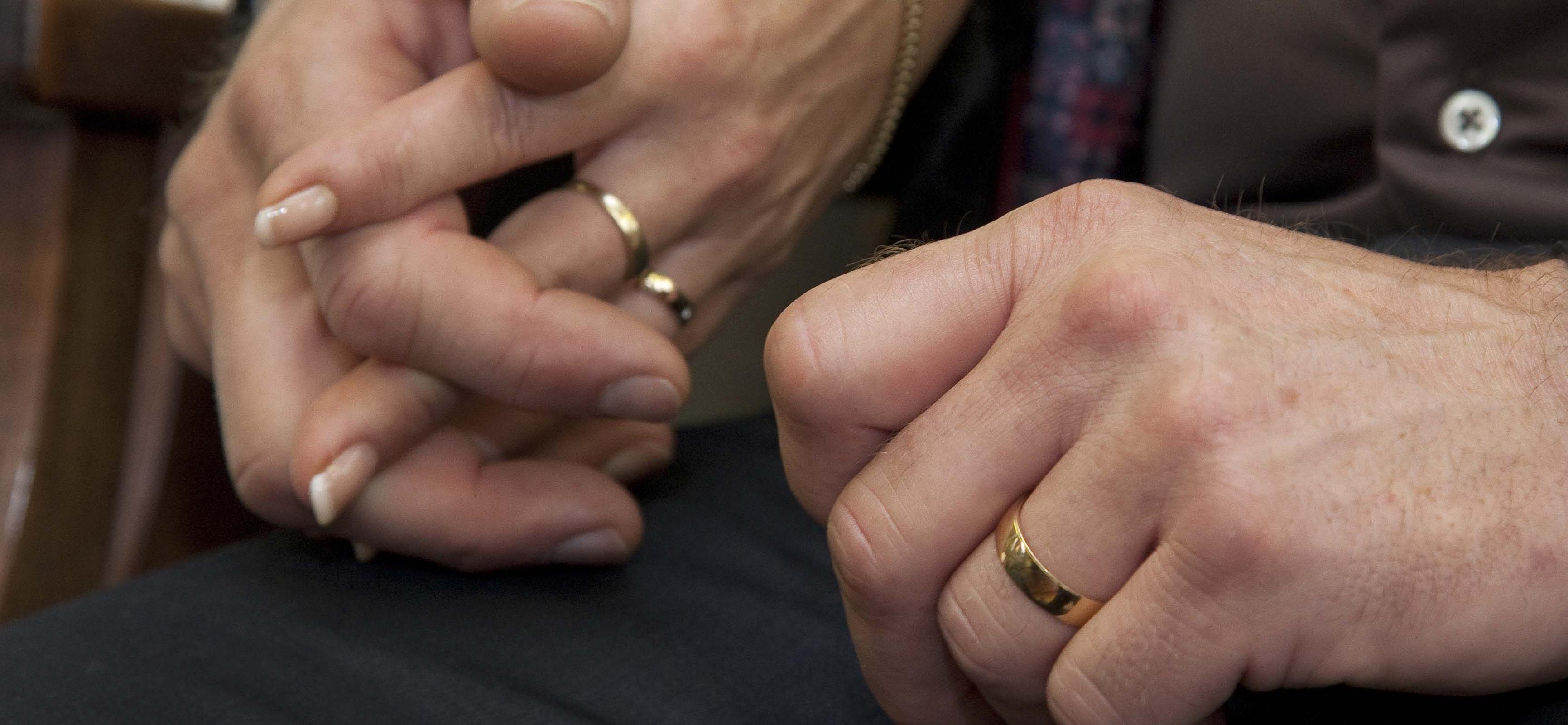 Fijnlanders getrouwd