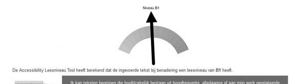B1 niveau