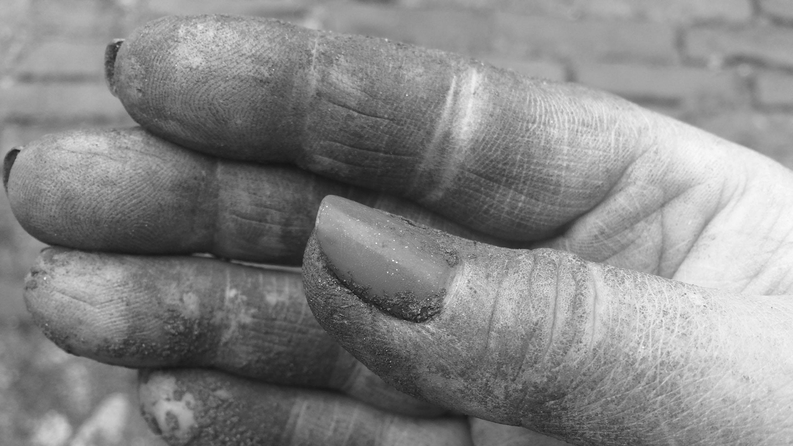 Vuile handen