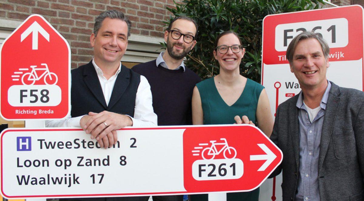Eerste Brabantse bestuursovereenkomst voor snelfietsroute